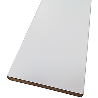 Rufete Tapeta Blanco lacado (90 x 2.550 mm)