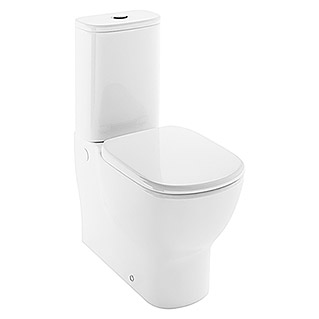 Ideal Standard Pack de WC Idealmood (Sistema Soft-Close, Con borde de descarga, Salida WC: Dual, Blanco)