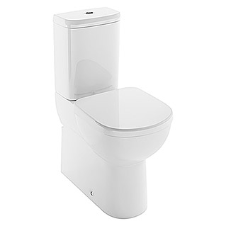 Ideal Standard Pack de WC Antero (Sistema Soft-Close, Con borde de descarga, Salida WC: Dual, Blanco)