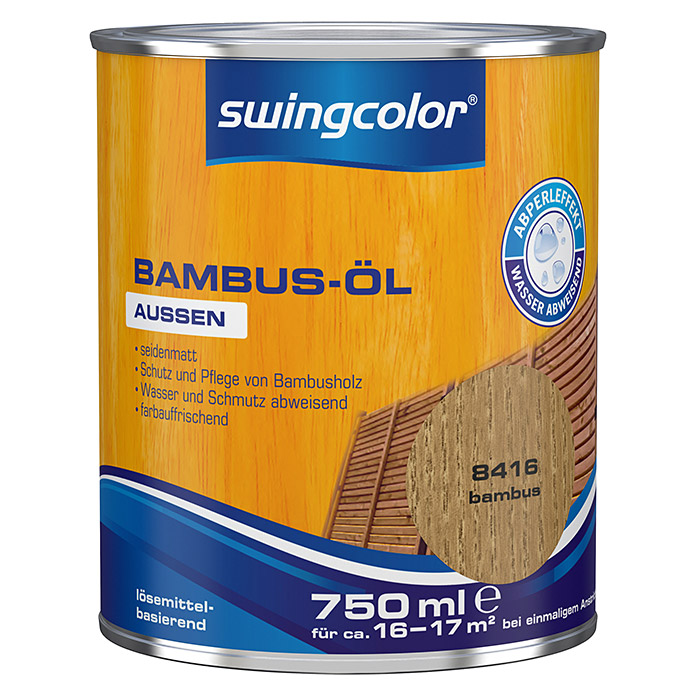 swingcolor Bambus-Öl (750 ml, Bambus) -
