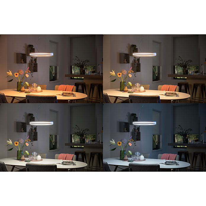 Philips Hue Being LED-Pendelleuchte (39 W, Weiß, Höhe: 8 cm)