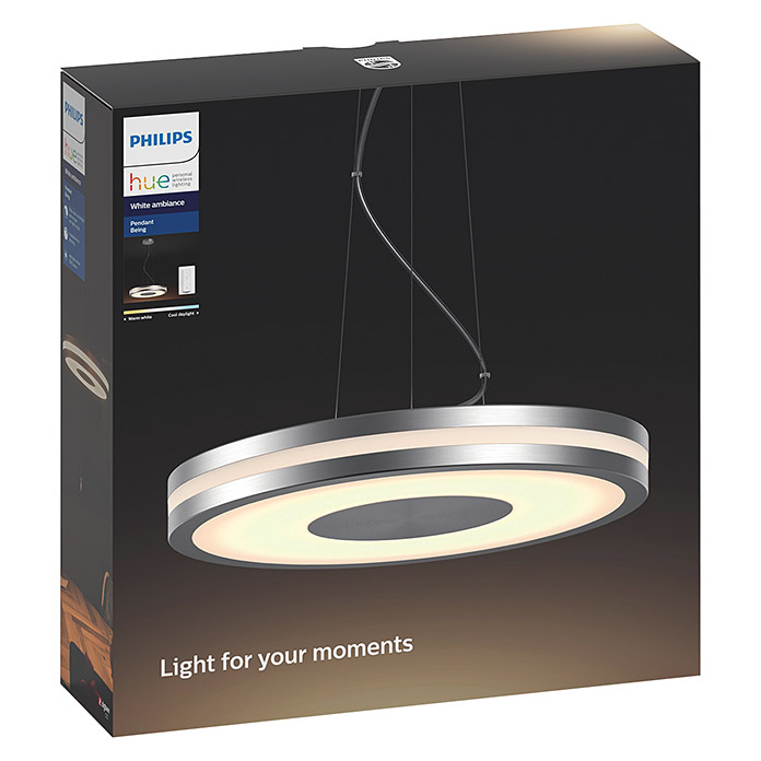 Philips Hue Being LED-Pendelleuchte (39 W, Aluminium, Höhe: 8 cm)