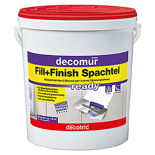 Decotric decomur Spachtel Fill+Finish ready (20 kg)