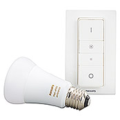 Philips Hue LED-Leuchtmittel-Set White Ambiance (E27, 8,5 W, Einstellbare Farbtemperatur, Dimmbar)