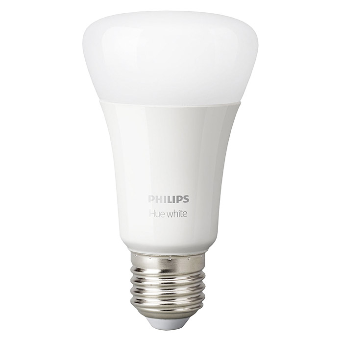 Philips Hue LED-Leuchtmittel-Set White (E27, 9 W, Warmweiß, Dimmbar, 2 Stk.)