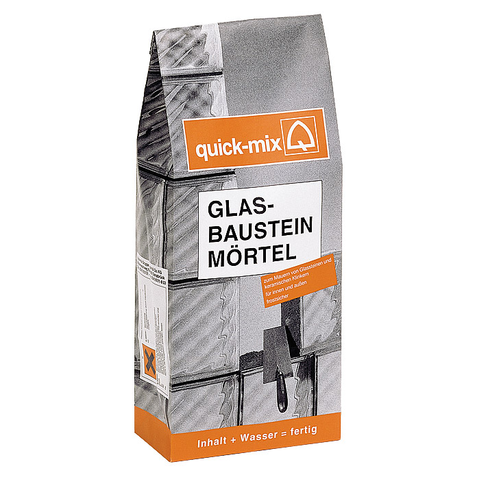 Quick-Mix Glasbausteinmörtel (10 kg)