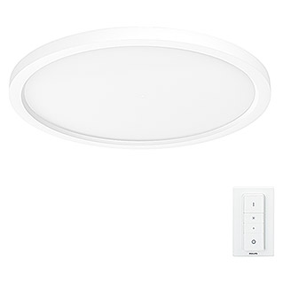 Philips Hue Panel LED redondo Aurelle (28 W, Blanco, Ø x Al: 39,5 x 4,7 cm)