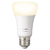 Philips Hue LED-Leuchtmittel White (E27, 9 W, Warmweiß, Dimmbar, 1 Stk.)