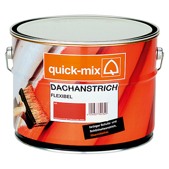 Quick-Mix Dachanstrich Flexibel (Grau)