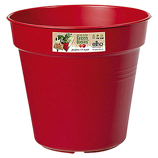 Elho Green Basics Pflanztopf Grow your own (Rot)