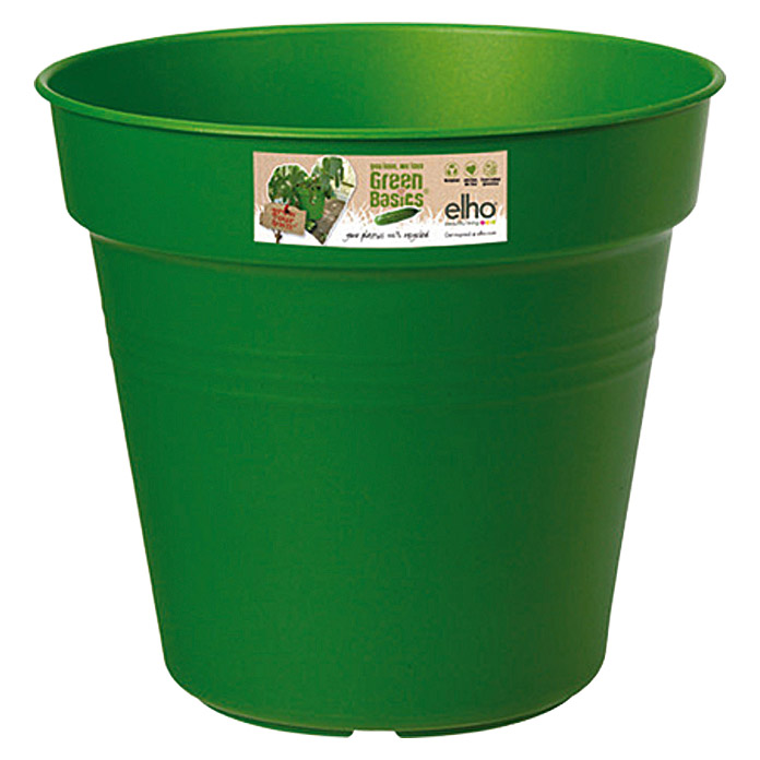 Elho Green Basics Pflanztopf Grow your own (Grün)