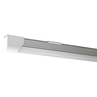 Osram Regleta estanca LED Basic (1 luz, 10 W, Color de luz: Blanco neutro, IP20)