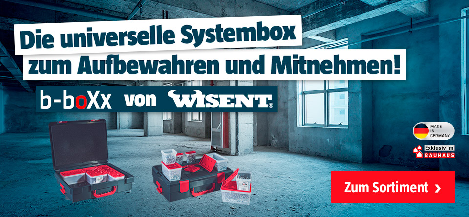 b-boXx - Die universelle Systembox