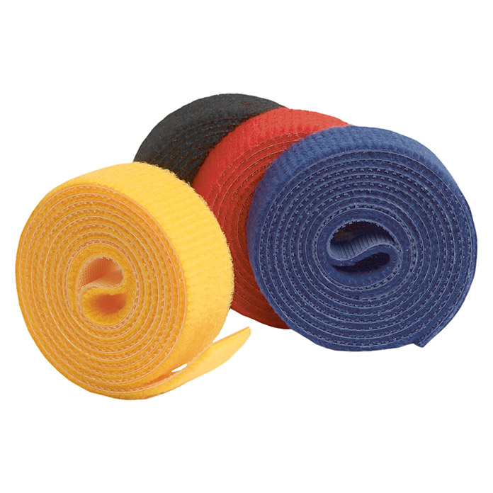 Label The Cable Klettband Roll Strap (Bunt, 1 m x 16 mm x 2 mm) -