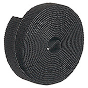 Label The Cable Klettband Roll Strap (Schwarz, 3 m x 16 mm x 2 mm)