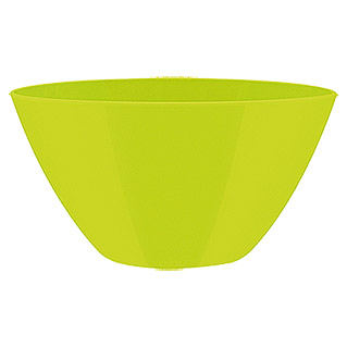Elho Brussels Diamond Blumentopf Oval  (Lime, 20 x 14 x 10 cm)