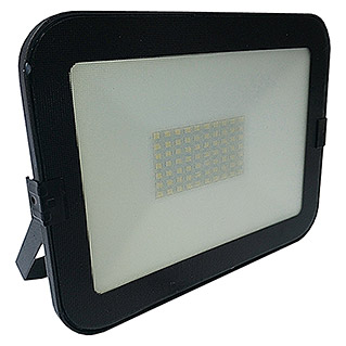 Alverlamp Proyector de LED LQ (50 W, Color de luz: Blanco neutro, IP65, Negro)