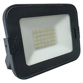Alverlamp Proyector de LED LQ (20 W, Color de luz: Blanco neutro, IP65, Negro)