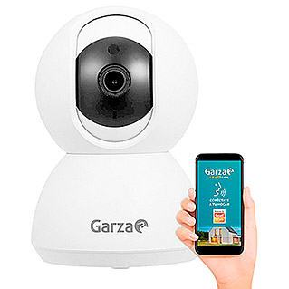 Garza Smart Home Cámara IP de interior inteligente WiFi (Sistema Smart Home Garza, 360°)