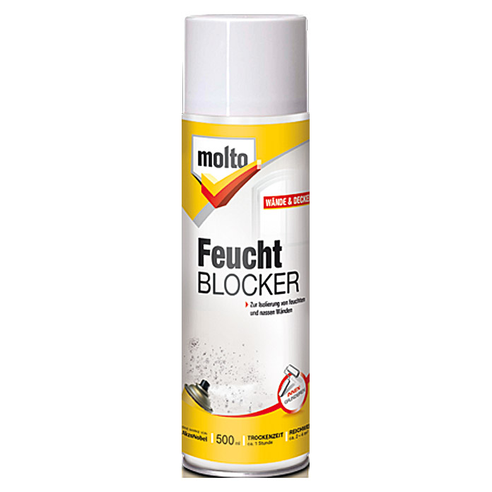 molto feuchtblocker 500 ml aerosoldose 5925. Black Bedroom Furniture Sets. Home Design Ideas