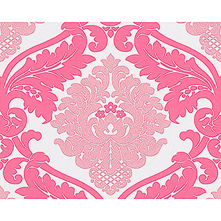 AS Creation Vliestapete Bling Bling (Pink, Ornament, 10,05 x 0,53 m)