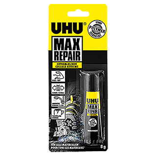 UHU Extrem-Kleber Max Repair (Transparent, 8 g, Tube)