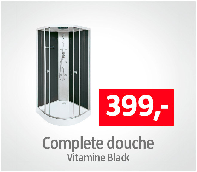Complete douchecabine