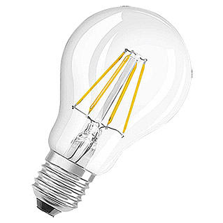 Osram Bombilla LED Retrofit Classic A (4 W, E27, A60, Blanco cálido, No regulable, Claro)