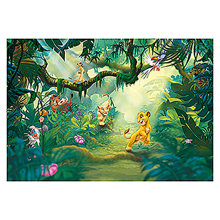 Komar Disney Edition 4 Fototapete Lion King Jungle (368 x 254 cm, Papier)