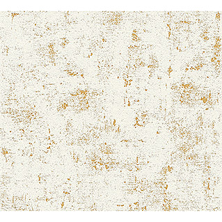 AS Creation Trendwall Vliestapete (Beige/Gold/Metallic, Betonoptik, 10,05 x 0,53 m)
