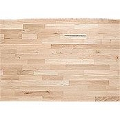 Exclusivholz Tablero de madera maciza (Roble, 400 cm x 80 cm x 2,6 cm )