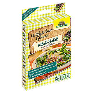 Neudorff Wildgärtner Genuss Saatmischung Vital-Salat (2 x 2 g, Aussaat: August - September)