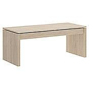 Mesa de centro Side (L x An x Al: 50 x 100 x 43 cm, Natural)