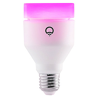 LIFX LED-Leuchtmittel Multicolor (1 Stk., E27, 11 W, RGBW, Dimmbar)