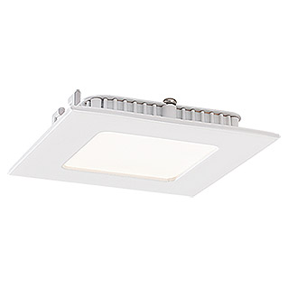 Tween Light LED-Einbauspot (2,7 W, 85 x 85 mm, Warmweiß, Metallguss)