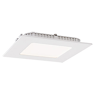 Tween Light LED-Einbauspot (5,5 W, 120 x 120 mm, Warmweiß, Metallguss)