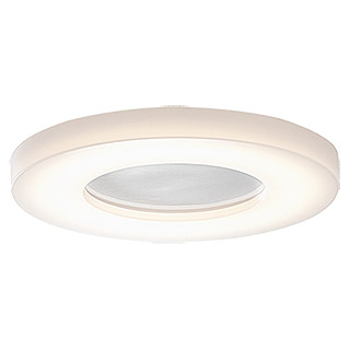 Osram Plafón LED para pared y techo Ring (18 W, 280 mm, Blanco cálido, Clase de eficiencia energética: A++ a A)