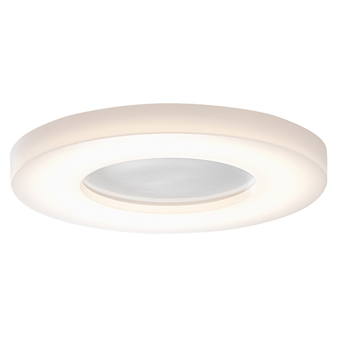 Osram Aplique LED para luces de pared y techo Ring (18 W, 280 mm, Blanco cálido, Clase de eficiencia energética: A++ a A)