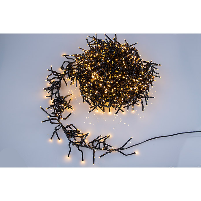 Tween Light Guirnalda luminosa LED (Para exterior, 1.000 luces, Longitud del cable: 12,5 m)