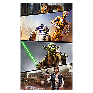 Komar Star Wars Fototapete Rebels (120 x 200 cm, Vlies)