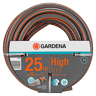 Gardena Manguera Comfort High Flex (Largo: 25 m, Diámetro tubo flexible: 19 mm (¾''), Presión máxima: 30 bar)