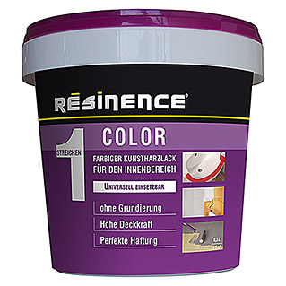 Résinence Color Farbiger Kunstharzlack (Weiß, 500 ml)
