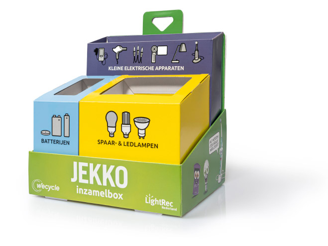 Wecycle Jekko inzamelbox