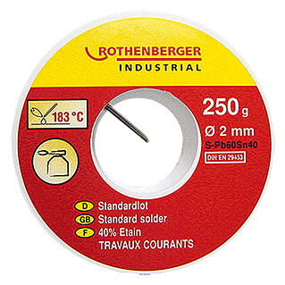 STANDARD- LOT       L-PB SN40 250 g     ROTHENBERG