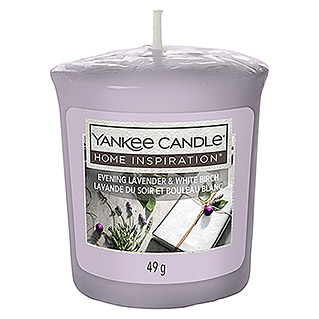 Yankee Candle Home Inspirations Votivkerze (Evening Lavender White Birch, 49 g)