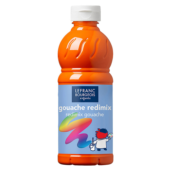 Lefranc & Bourgeois Gouachefarbe Redimix (Orange, 500 ml) -