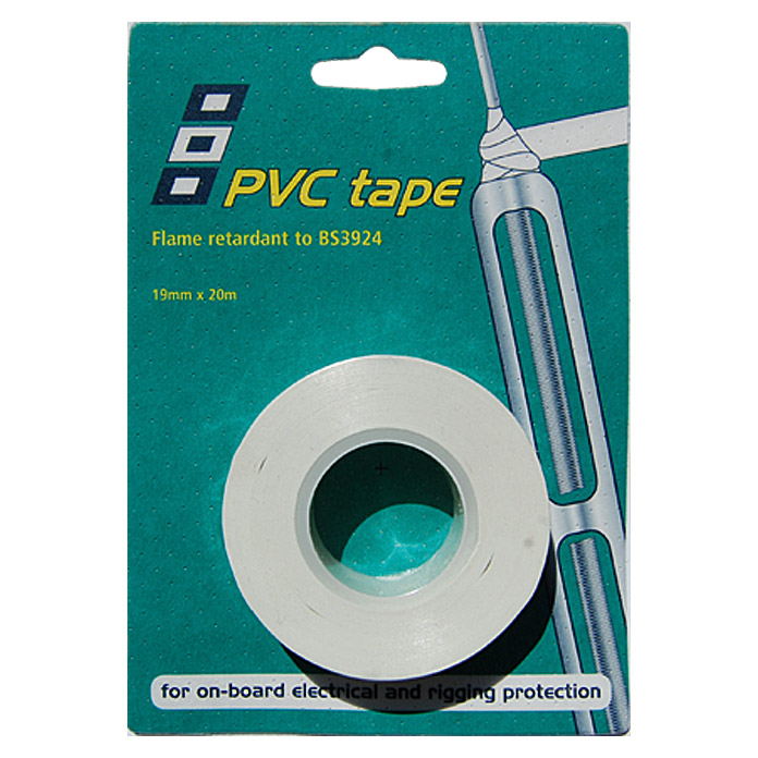 PSP Electrical & Rigging Tape  (Weiß, 20 m x 19 mm)