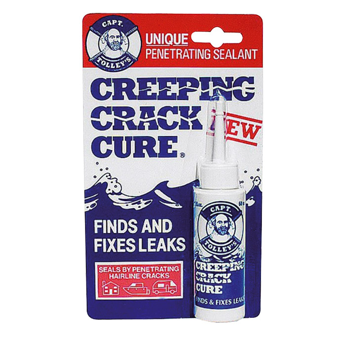 Captain Tolley Dichtmasse Creeping Crack Cure  (Transparent, 60 ml)