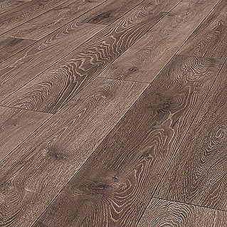 LOGOCLIC Aquaprotect Laminat Night Oak (1.285 x 192 x 8 mm, Landhausdiele)