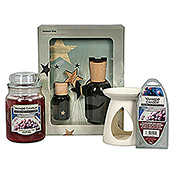 Yankee Candle Home Inspirations Duftkerze (Im Glas, Snow Kissed Cranberry, Large)